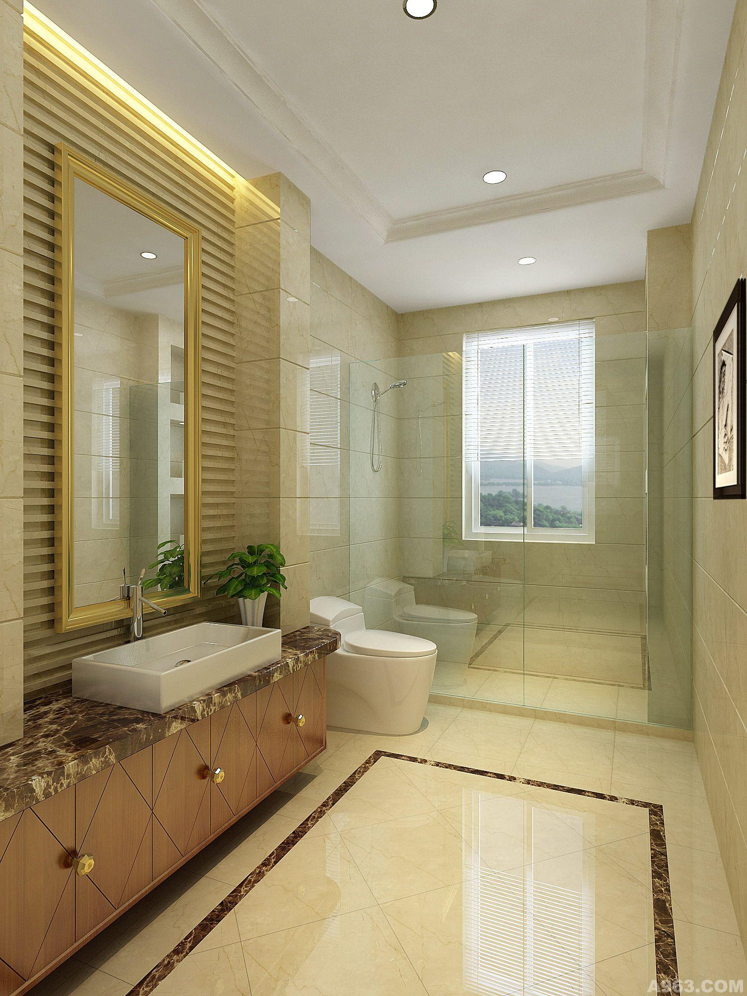 曲池坊260平米简欧设计 - 住宅空间 - 西安室内设计网