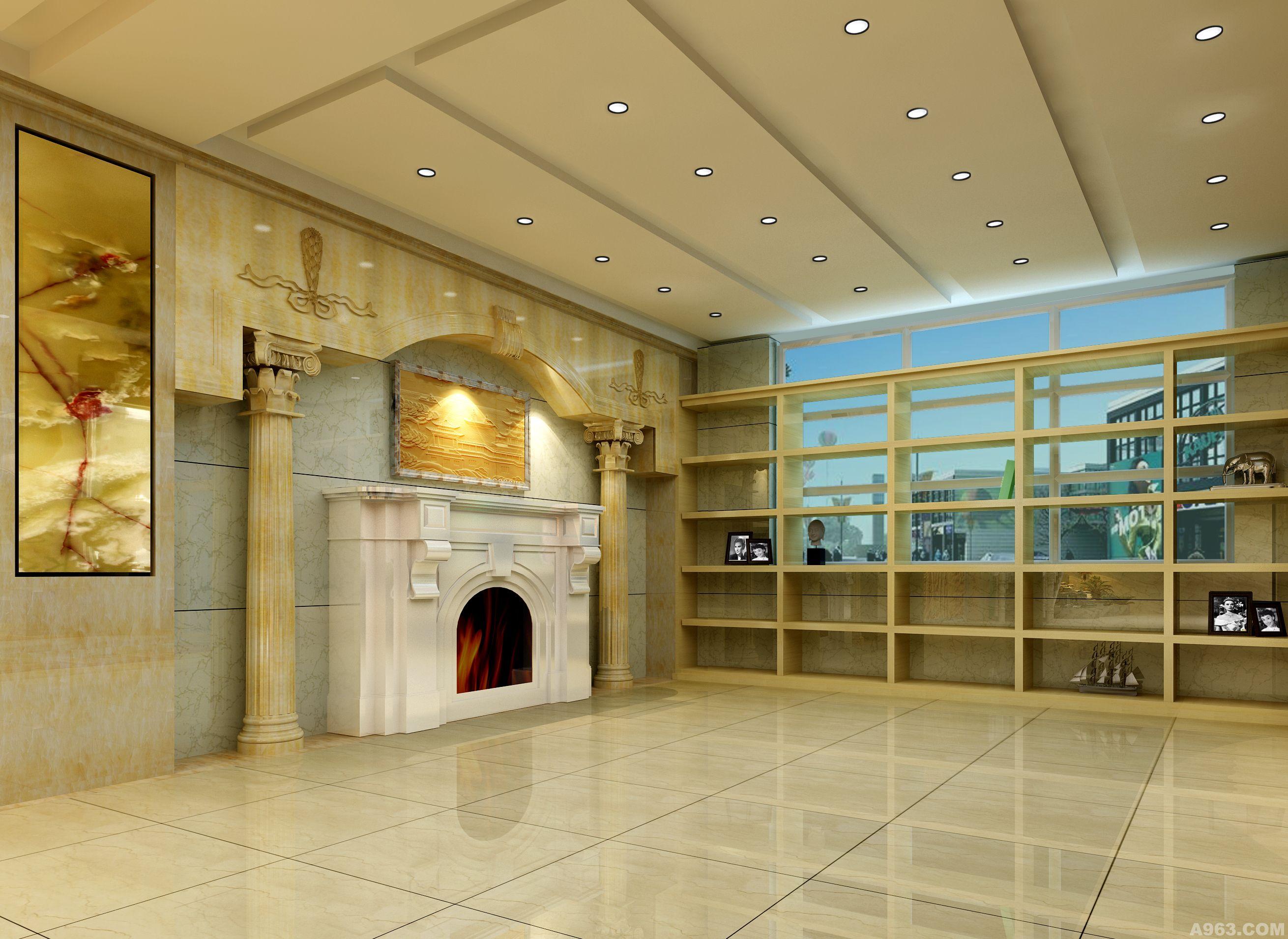 石材展示厅 - 陈设艺术 - 设计作品案例