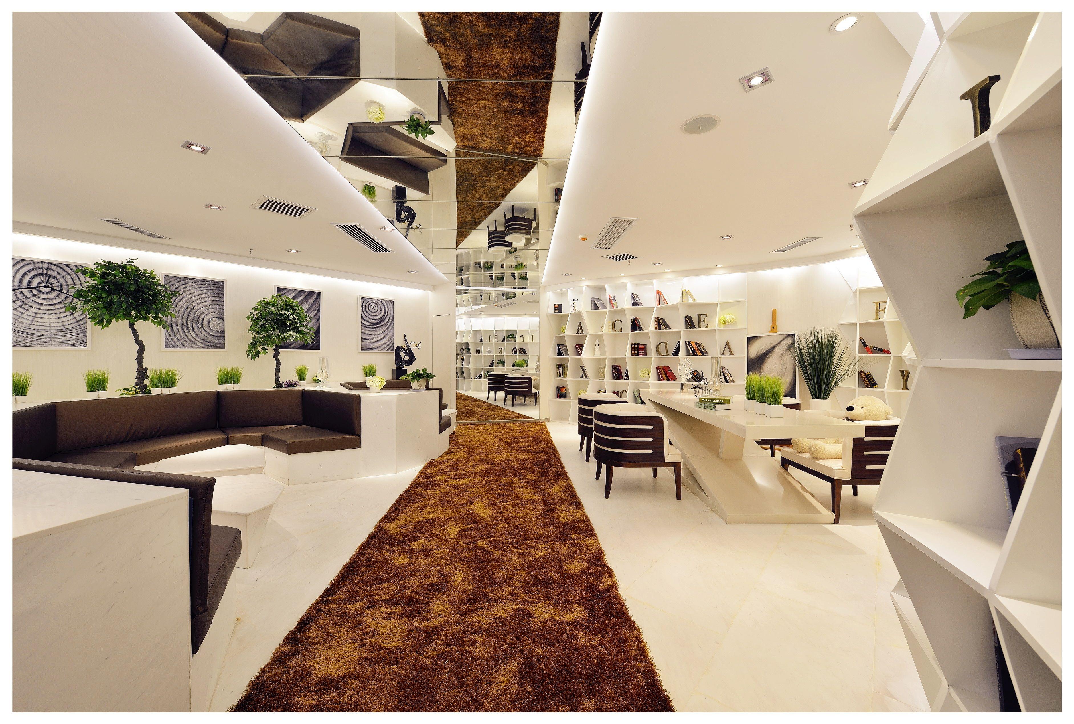 蔚蓝东庭售楼部 - 展示空间 - 邱洋设计作品案例