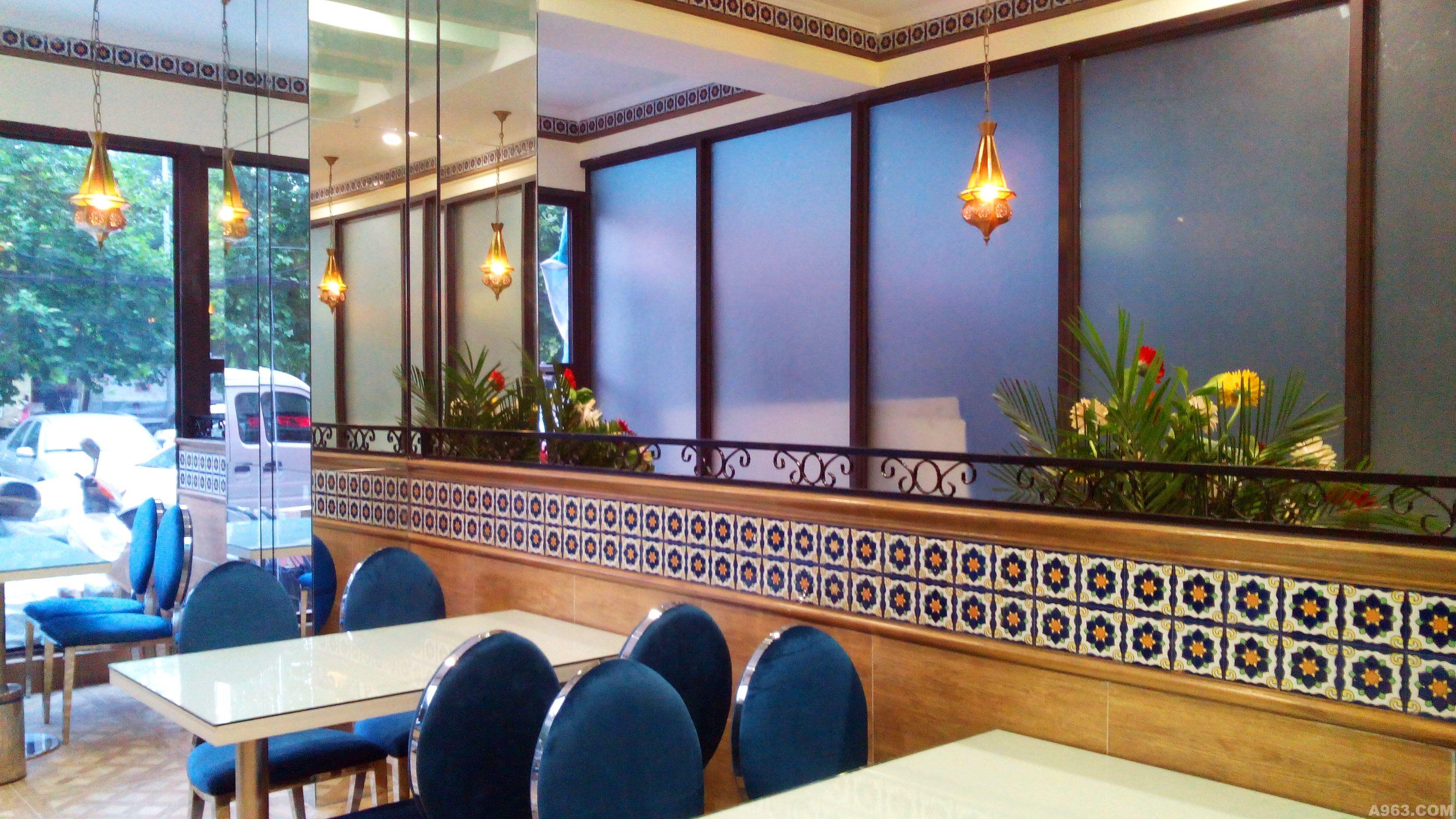 清真沙特尔牛肉饼餐厅 - 餐饮空间 - 马录设计作品案例