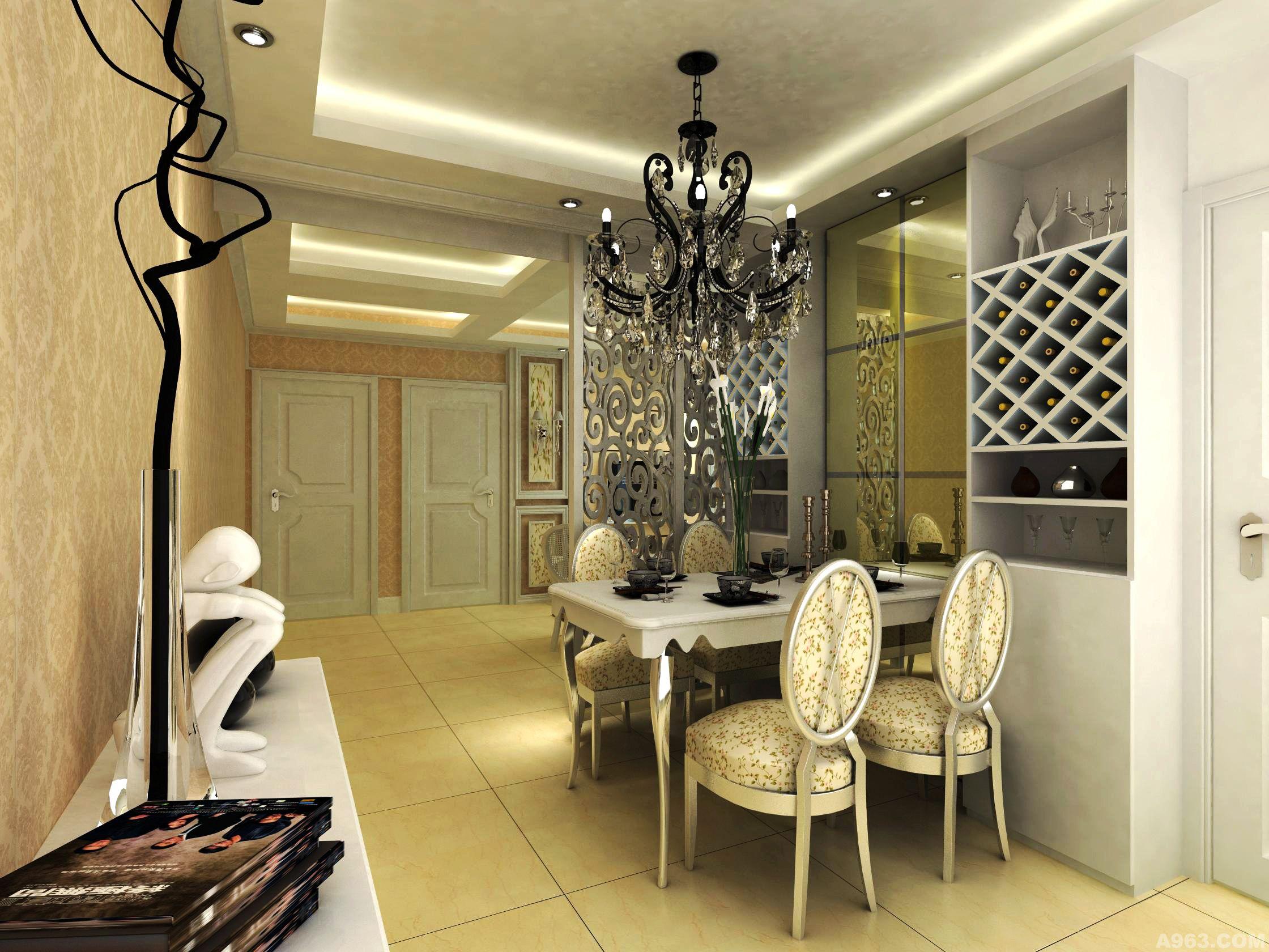 住宅空间 - 西安室内设计网
