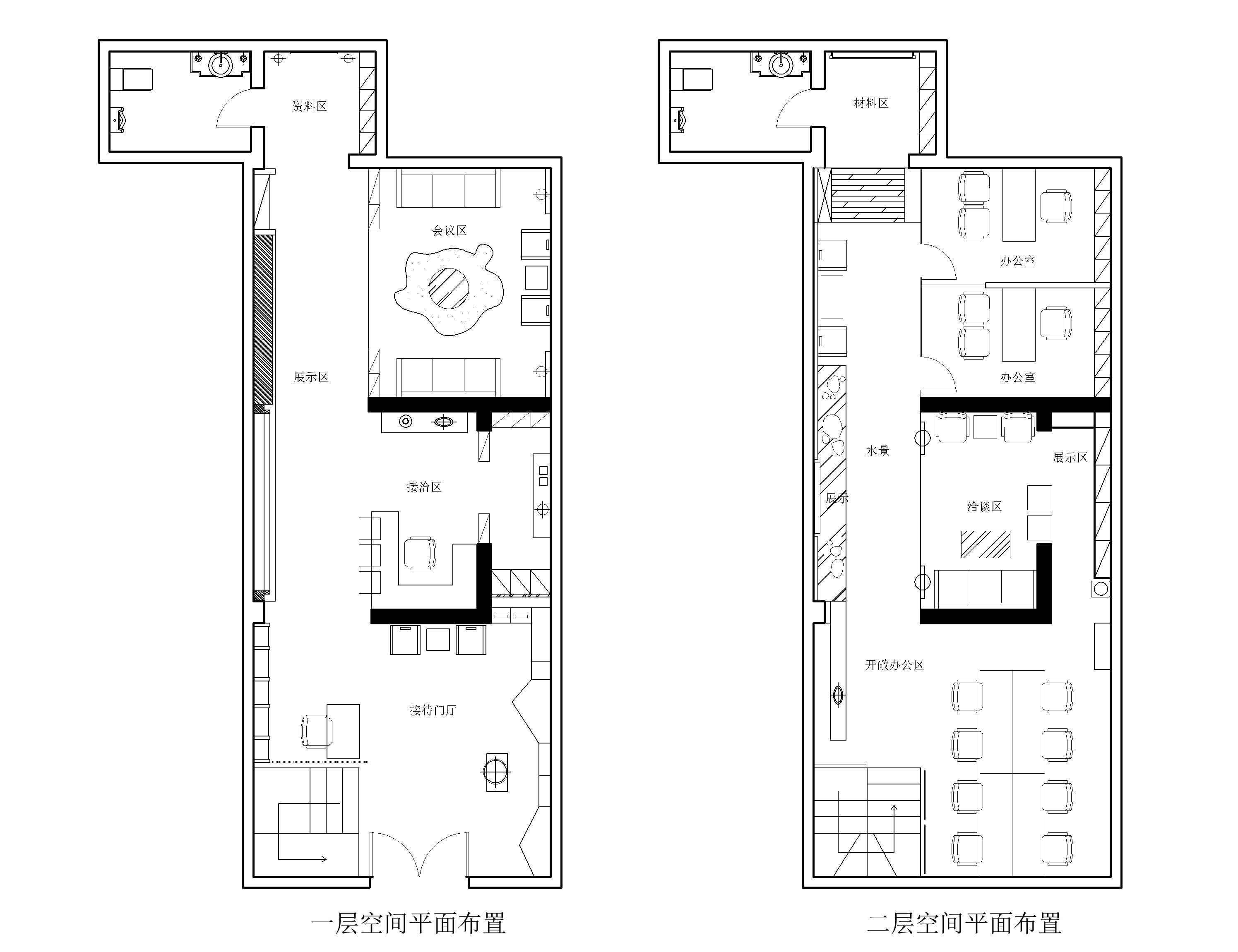 使空间结构与功能使用更好的融合,以空间设计为切入点,将传统文化与