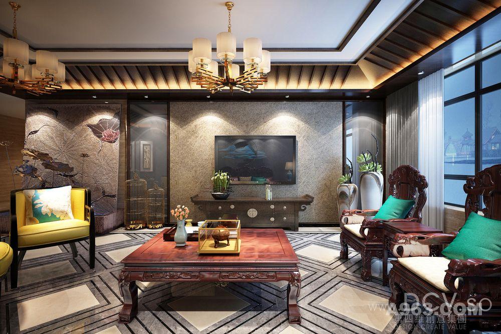 韩城高端新中式住宅设计