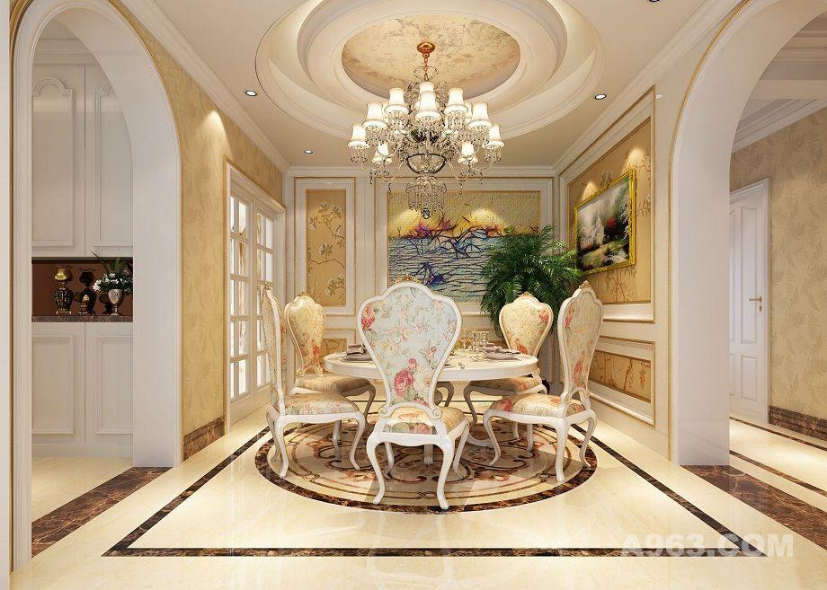建邦华庭170平新古典欧式设计方案 - 普通家装设计