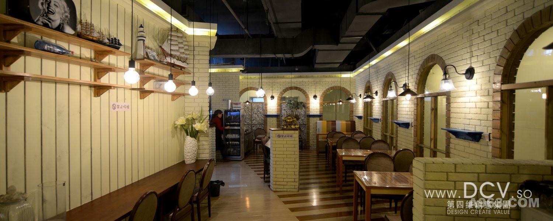 西安最能吃饱的主题餐厅设计-慢生活冷火锅