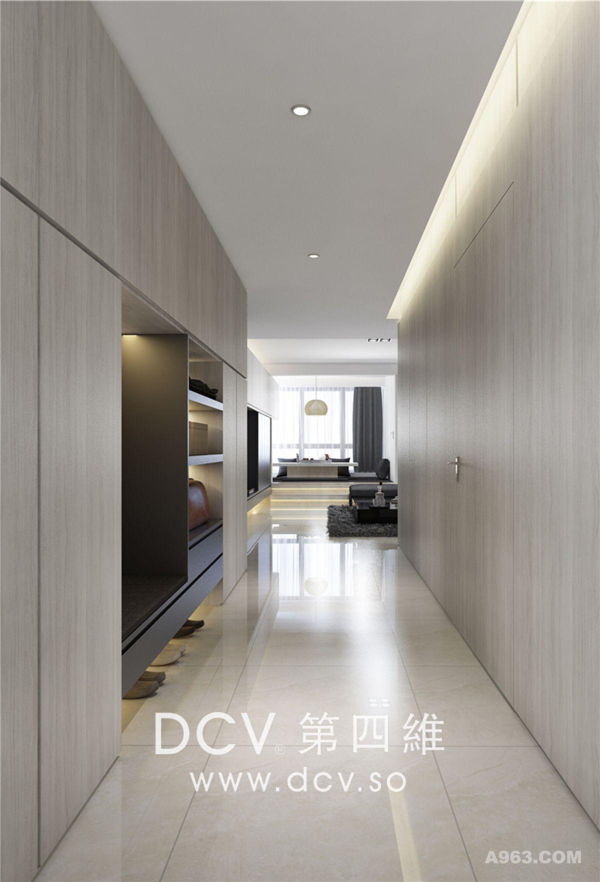 西安最知名的极简平层别墅设计-紫汀苑(曲江)