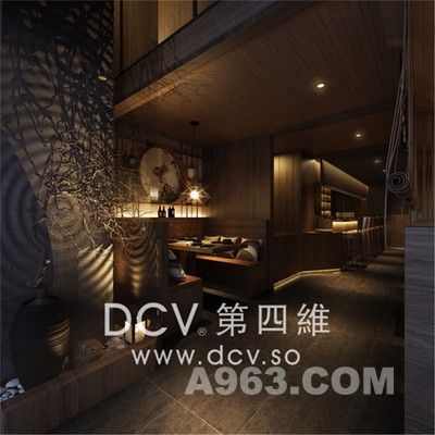 西安最知名的日式料理餐厅设计-惠舍.炉端烧(禾盛京广中心)