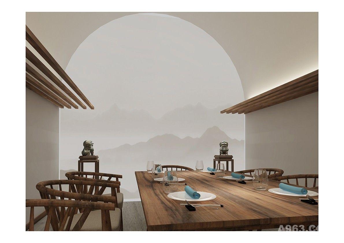 窯洞餐廳設計說明
