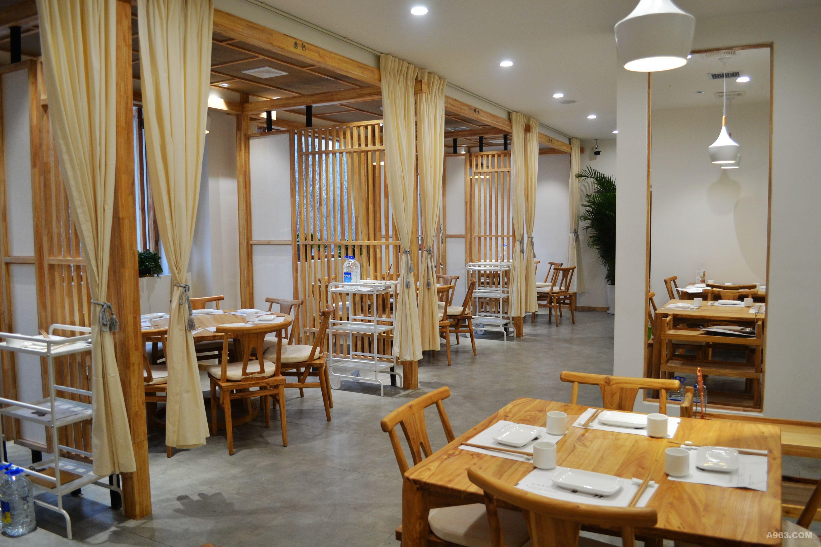 呼伦湖畔餐饮 - 餐饮空间 - 第8页 - 卜林设计作品案例